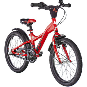 s'cool XXlite 18 3-S alloy Kids red/black matt